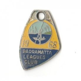 1968 Parramatta Leagues Club Member Badge