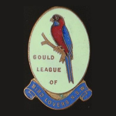 1936 Gould League of Bird Lovers NSW Member Badge Pin