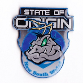 2008 NSW Cockroaches State of Origin LE Pin Badge