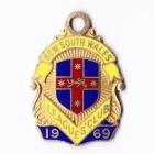 1969 NSW Leagues Club Member Badge