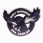 2002 Manly Warringah Sea Eagles NRL Logo Trofe Pin Badge