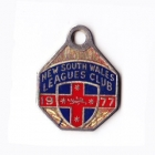 1977 NSW Leagues Club Member Badge