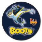 2010 North Queensland Cowboys NRL Mascot SS Button Badge