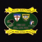 2009 RL Four Nations Pin Badge a