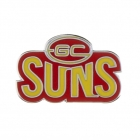 2011 Gold Coast Suns AFL Logo Trofe Pin Badge
