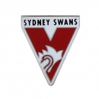 2011 Sydney Swans AFL Logo Trofe Pin Badge