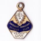 1966 Canterbury Bankstown Leagues Club Member Badge