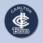 2012 Carlton Blues AFL First 18 Trofe Pin Badge