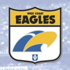 2012 West Coast Eagles AFL First 18 Trofe Pin Badge