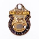 1963-64 Balmain Leagues Club Member Badge