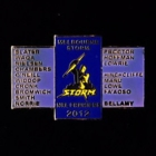 2012 Melbourne Storm NRL Premiers Players Pin Badge