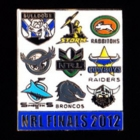 2012 NRL Finalists Pin Badge