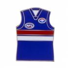 2011 Western Bulldogs AFL Jersey Trofe Pin Badge