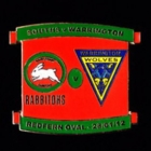 2012 Rabbitohs v Warrington Pin Badge n