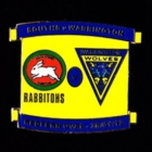 2012 Rabbitohs v Warrington Pin Badge s