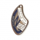 1966 Newtown Leagues Club Member Badge