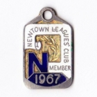 1967 Newtown Leagues Club Member Badge