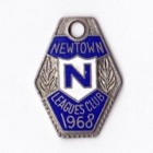 1968 Newtown Leagues Club Member Badge