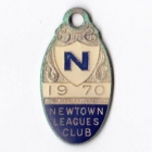1970 Newtown Leagues Club Member Badge
