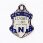 1971 Newtown Leagues Club Member Badge