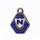 1973 Newtown Leagues Club Member Badge