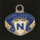1974 Newtown Leagues Club Member Badge
