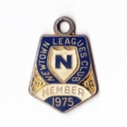 1975 Newtown Leagues Club Member Badge