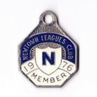 1976 Newtown Leagues Club Member Badge