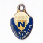 1977 Newtown Leagues Club Member Badge