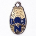 1979 Newtown Leagues Club Member Badge