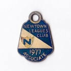 1977 Newtown Leagues Club Associate Member Badge
