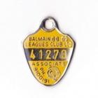 1988-89 Balmain Leagues Club Associate Member Badge