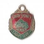 1967 South Sydney Leagues Club Member Badge