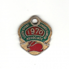 1970 South Sydney Leagues Club Associate Member Badge