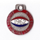 1962 Eastern Suburbs Leagues Club Member Badge