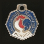 1976 Eastern Suburbs Leagues Club Member Badge