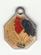1982 Eastern Suburbs Leagues Club Member Badge