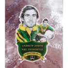 2012 Rugby League Immortal Andrew Johns Badge Pin