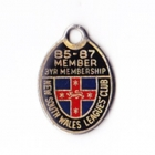 1985-87 NSW Leagues Club 3 Year Member Badge
