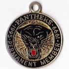 1995-99 Penrith Panthers Permanent Member 5 Year Badge