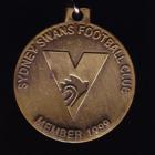1999 Sydney Swans AFL Member Keyring Badge
