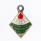 1974-75 Central Coast Leagues Club Member Badge