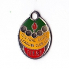 1980-81 Central Coast Leagues Club Member Badge