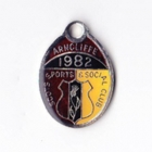 1982 Arncliffe Scots Sports & Social Member badge