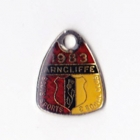 1983 Arncliffe Scots Sports & Social Member badge