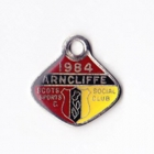1984 Arncliffe Scots Sports & Social Member badge