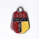 1986 Arncliffe Scots Sports & Social Member badge