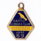 1968-69 Dapto Leagues Club Member Badge