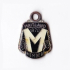 1970 Maitland Leagues Club Member Badge