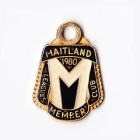 1980 Maitland Leagues Club Member Badge
